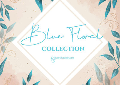 THE BLUE FLORAL COLLECTION