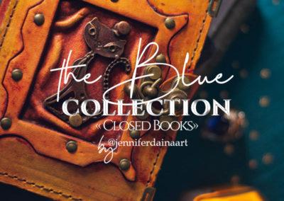 "The blue - ""Closed Books"""
