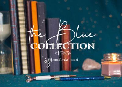 "The blue - ""Pens"""