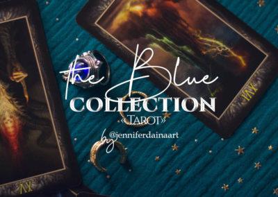 "The blue - ""Tarot"""