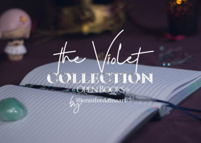 """The Violet - """"Open books"""""""