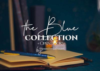 "The blue - ""Open Books"""